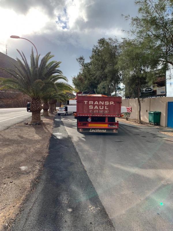 Transportes y excavaciones transsaul fuerteventura